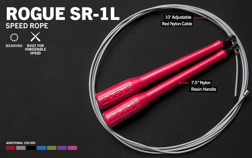 Скакалка Rogue SR-1L, pink-gray - 3