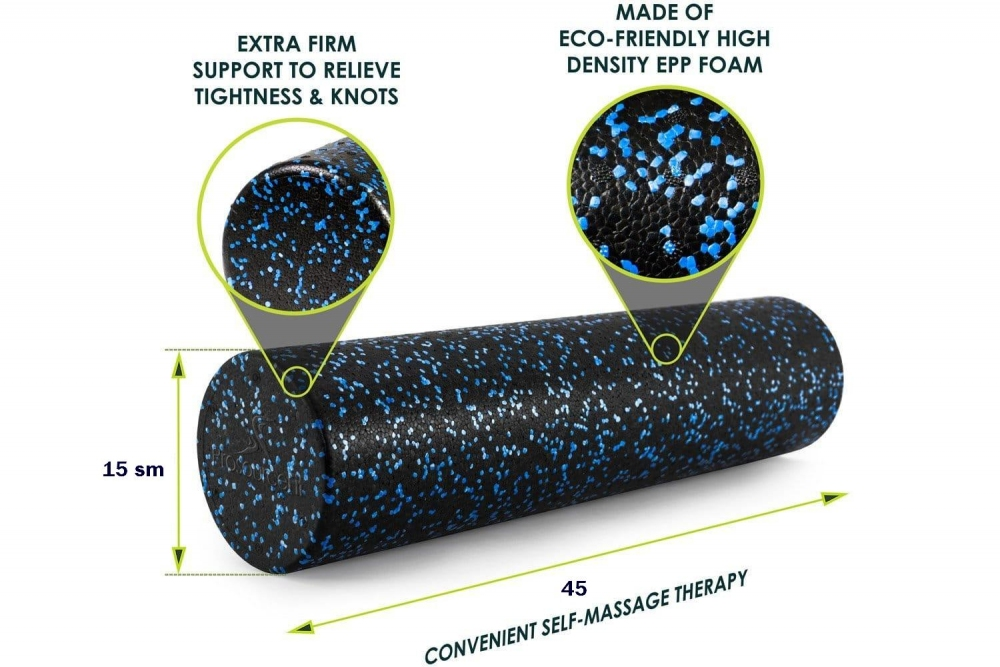 Массажный ролик High Density Speckled  Foam roller 45*15 - 1