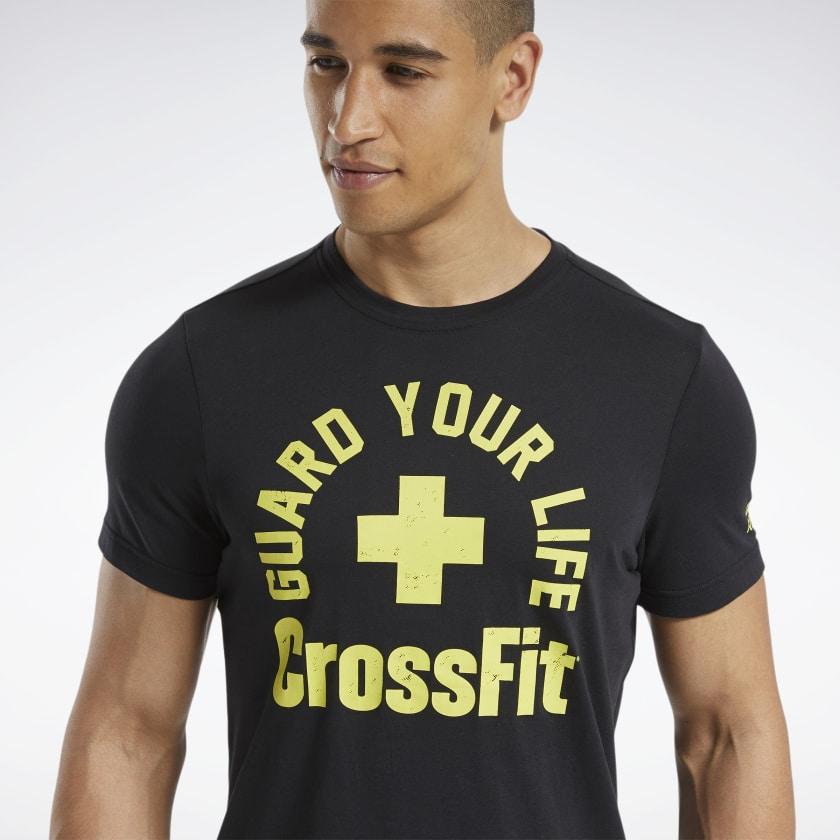 Чоловіча футболка  CROSSFIT® GUARD YOUR LIFE TEE - 4