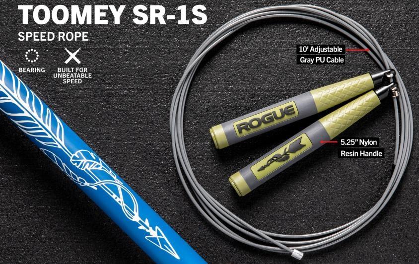 Скакалка Rogue Toomey SR-1S SPEED ROPE 2.0 - 2