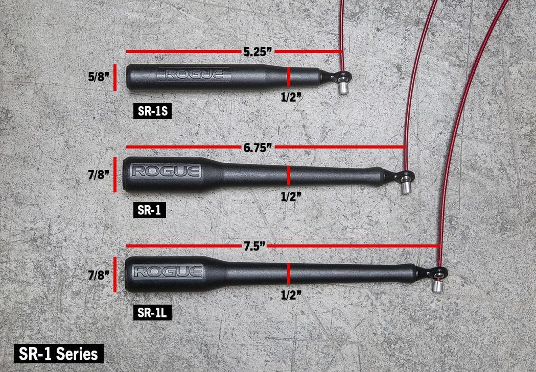 Скакалка Rogue SR-1L, red-gray - 2