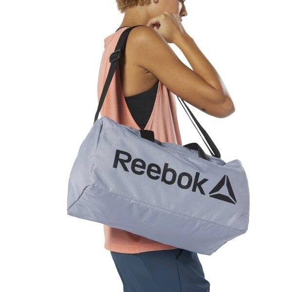 Серая спортивная сумка Reebok - 3