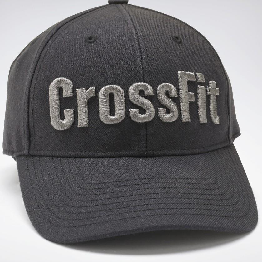 Кепка Reebok CrossFit, серый лого, FL5214 - 2