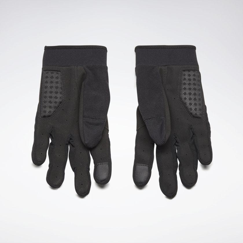 Тренировочные перчатки, голубые  - 1