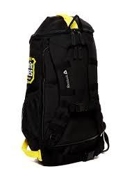 Черно-желтый рюкзак-сумка (вещевой мешок, туристический рюкзак) Crossfit 2014 Games  - 3