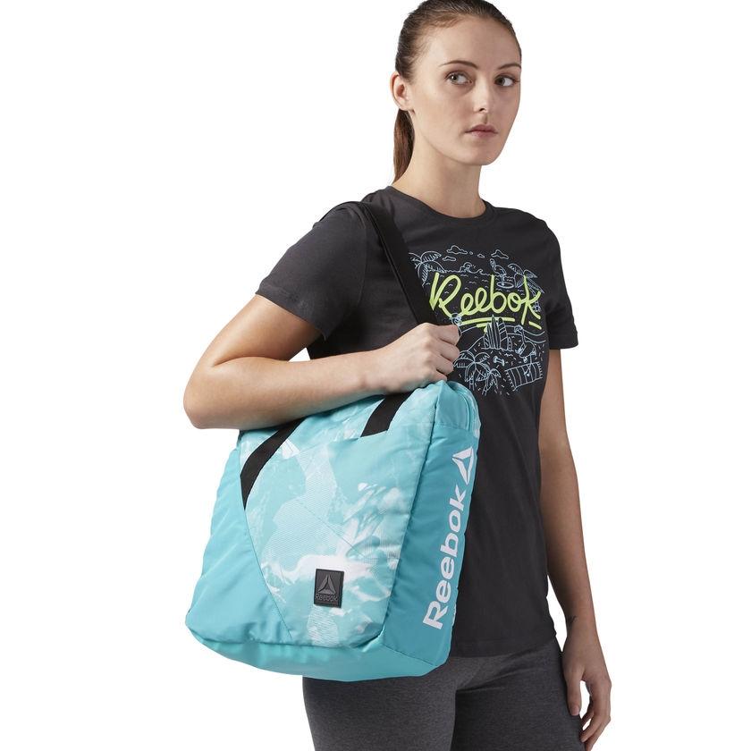 Женская сумка Reebok, 23 л, бирюзовая - 3