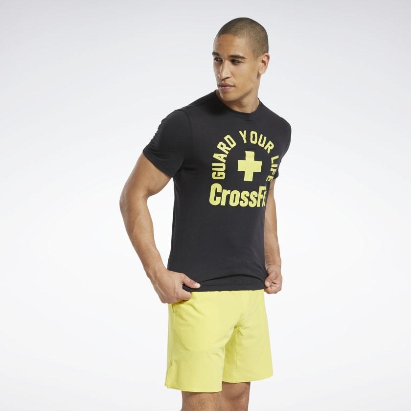 Чоловіча футболка  CROSSFIT® GUARD YOUR LIFE TEE - 3